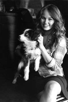 """Debby Ryan in Abercrombie & Fitch's Spring 2014 """"Making of a Star"""" campaign."""