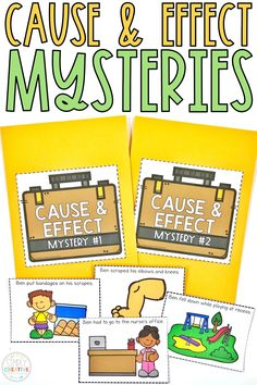 These printable and digital Google Classroom cause and effect activities are perfect for 2nd grade and 3rd grade. Use these interactive slides with Google Slides for digital learning. Resources include: mysteries, graphic organizers, cause and effect reading passages, and more!