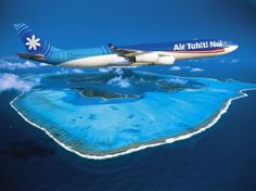 Beautiful Places to Spend your Summer Holiday - #Tahiti International Airline, Tahiti