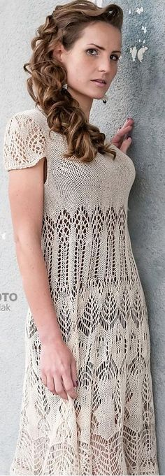 knit dress by Ligvita on Ravelry