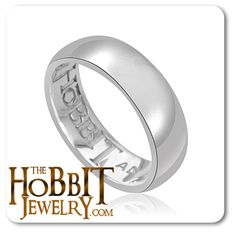 The Hobbit Silver One Ring (Before the Fire)