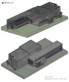 Viipuri Library, Vyborg (Competition 1927, Construction 1930-35) | Alvar Aalto | Archweb 3D