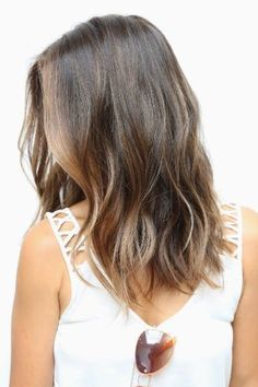 Medium Length Hairstyles with Little Layer 2016 - 2017