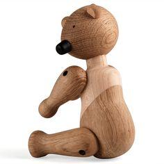 kay bojesen holzbär design kay bojesen eichenholz 6x10x14,4 cm, 280 g 95,00 € inklusive 19% ust zzgl. versandkosten