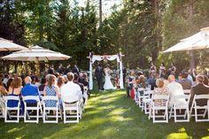 Tahoe Wedding Ceremony at Granlibakken Resort | Buena Lane Wedding Photography
