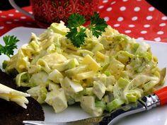 sałatka z pora - Moje Gotowanie - Przepisy - Sałatki Appetizer Salads, Appetizer Recipes, Salad Recipes, Potato Salad, Cooking Recipes, Healthy Recipes, Avocado Salad, Vegetable Salad, Recipes
