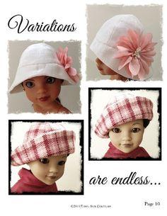 Cloche Hat H4H Doll Accessories