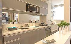 Side Estação Brooklin Cozinha e Lavanderia – 2 dormitórios (1 suíte) da Tibério Construtora