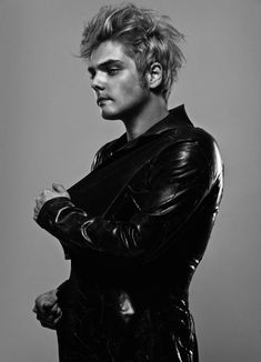 Gerard Way from My Chemical Romance - photographed by Allan Amato