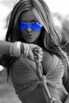u2605 Never leave without my shades of blue... u2605