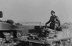 Counterattack with the 12. SS Panzer Division Hitlerjugend in the area north-west of Caen, Normandy, June 1944. The division fought superbly throughout the Normandy campaign, its performance a testimony to the training it had received, its leaders and the calibre of its individual recruits. However, its fighting qualities were to no avail in the face of the Allies so-called 'materialschlacht', their overwhelming strength in tanks, aircraft, motorised infantry and artillery.