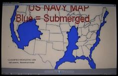 Nasa Accidentally Releases Classified Document On Doomsday Event - Future map of us