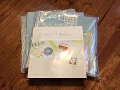 Becky Higgins Sweet Baby Scrapbooking Kit