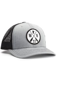 Adjustable mesh back trucker cap with Minnesota 32 Paddle logo.   The Chris Cap by Sota Clothing Co.. Accessories - Hats Minneapolis, Minnesota