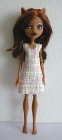 monster high pattern dress | Patterns for Monster High doll clothes