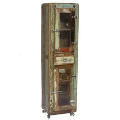 Parris Display Cabinet Williston Forge Orientation (door hinge): Right-hand hinge Wall Mounted Display Cabinets, Corner Display Cabinet, Glass Shelves, Upcycled Furniture, Vintage Furniture, Cool Furniture, Kitchen Furniture, Cheap Furniture Stores, Welsh Dresser