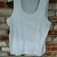 Coldwater Creek feminine top Tiered top 1X 18 Iooks unworn Coldwater Creek Tops