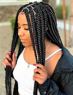 Crochet Box Braids Hairstyles for Black Women - crazyforus -. - Crochet Box Braids Hairstyles for Black Women – crazyforus -…- Crochet Box Braids Hairstyles fo - Blonde Box Braids, Black Girl Braids, Braids For Black Hair, Girls Braids, Pixie Braids, Box Braids Hairstyles For Black Women, Cool Braid Hairstyles, Girl Hairstyles, Black Hairstyles