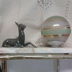 Lampe Veilleuse Hirondelle Art Deco 1930 Art Nouveau Arts And