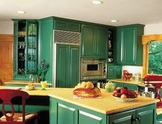 Colorful kitchen design ideas with colorful interior