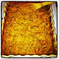 Cheezy Rice/Quinoa & Lentil Bake   Kid Tested Firefighter Approved
