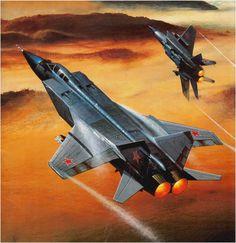 MiG-31 Foxhound (Jarosław Wróbel)