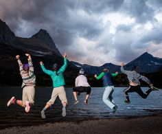 Photo by Corey Arnold @arni_coraldo Test flying with five adventurous #montanastate university ladies in Glacier National Park. I've met plenty of wilderness savy youngsters addicted to getting outside in Montana during the past week. Tomorrow is my last day in beautiful Glacier before heading South. Wyoming bound next week in search of millennials using the National Parks. Hey @ladzinski How did we not cross paths? Story out in the December 2016 issue of @natgeo @glaciernp…