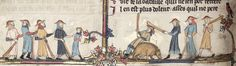 MS. Bodl. 264 The Romance of Alexander in French verse 1338-44; with two sections added in England c. 1400 Folio 74v