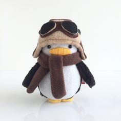 My Dear Darling Aviator Mini Penguin