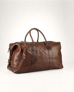 616e628c3a  RalphLauren Leather Weekend Bag - Travel Bags Bags  amp  Business  Accessories - RalphLauren.
