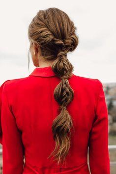 Cute Hairstyles Updos, Work Hairstyles, Beautiful Braids, Hair Dos, Her Hair, Hair Inspiration, Short Hair Styles, Hair Beauty, United Nations