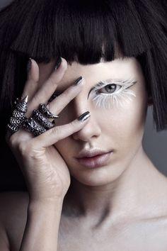 Resultado de imagen para venado make up editorial