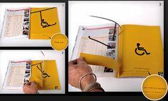 Double page creative advertising: YOUR LIFE CAN TURN IN  A SECOND! Pubblicità creative su doppia pagina dei magazines: LA TUA VITA PUO' CAMBIARE IN UN SECONDO. Recensito da: www.setadv.com
