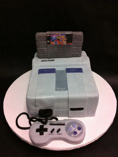 SNES Groom's Cake - I want this cake for my self I LOVE MARIO