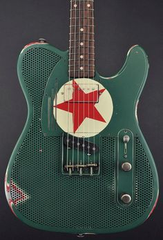 Trussart Steelcaster Red Star Guitar