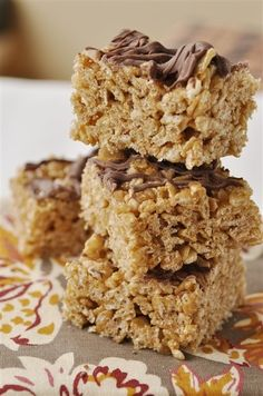cinnamon rice krispie treats