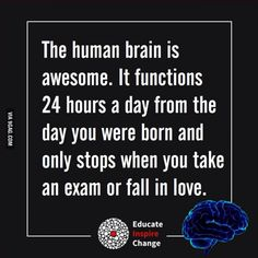 When the human brain stops...