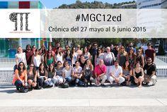 La #GestiónCultural desde las aulas del #MGC12ed. Crónica del 27 de mayo al 3 de junio 2015.