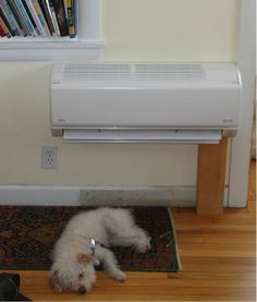 Now this pup knows what it means to stay in #PerfectComfort. #NRG #Heating #AC #Ductless #Splitsystem