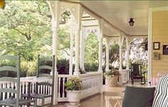 i love old southern porches