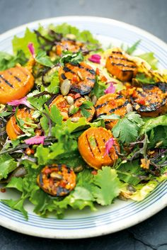 The Pool   Food and home - Sweet potato salad with watercress, ginger and soy