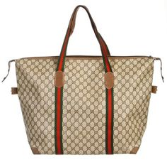 Gucci Monogram Canvas Large Handbag Tan Tote Bag. Get one of the hottest styles of the season! The Gucci Monogram Canvas Large Handbag Tan Tote Bag is a top 10 member favorite on Tradesy. Save on yours before they're sold out!