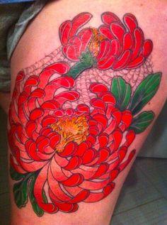Chris Nunez, Chris Masters, Ink Master, Leaf Tattoos, Watercolor Tattoo, Temp Tattoo