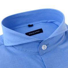 Extreme Cutaway Sky Blue Shirt