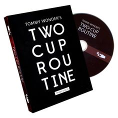 Tommy Wonder's 2 Cup Routine - On this DVD Tommy teaches one of his masterpieces, The two cup Routine, to magician and entertainer Leo Smetsers from The Netherlands. A 'must' for every lover of magic and believe us, this will become a collectors item! Tommy Wonder (1953-2006) is an acknowledged icon in the magic world, national and international. The Books of Wonder from this get it here: http://www.wizardhq.com/servlet/the-17808/tommy-wonders-2-cup-routine/Detail?source=pintrest