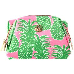 Lilly Pulitzer Waterside Cosmetic Case ($48) ❤ liked on Polyvore featuring beauty products, beauty accessories, bags & cases, bags, filler, wash bag, toiletry kits, dop kit, purse makeup bag and make up bag