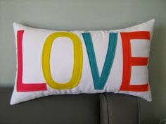 Resultado de imagen para almohadas de fieltro para san valentin