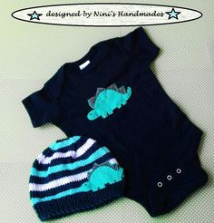 Stegosaurus Two Piece Baby Set