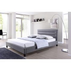 Baxton Studio Upholstered Platform Bed