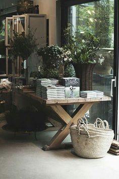 The Flower Shop: Zetas Garden Shop I Victoria Skoglund Estilo Tropical, Interior And Exterior, Interior Design, Design Apartment, Garden Shop, Retail Space, Uk Retail, Store Displays, Retail Design